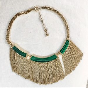 HENRI BENDEL statement necklace